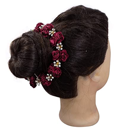 Buy Fully Hair Styling Tools For Girls And Women, Gajra For