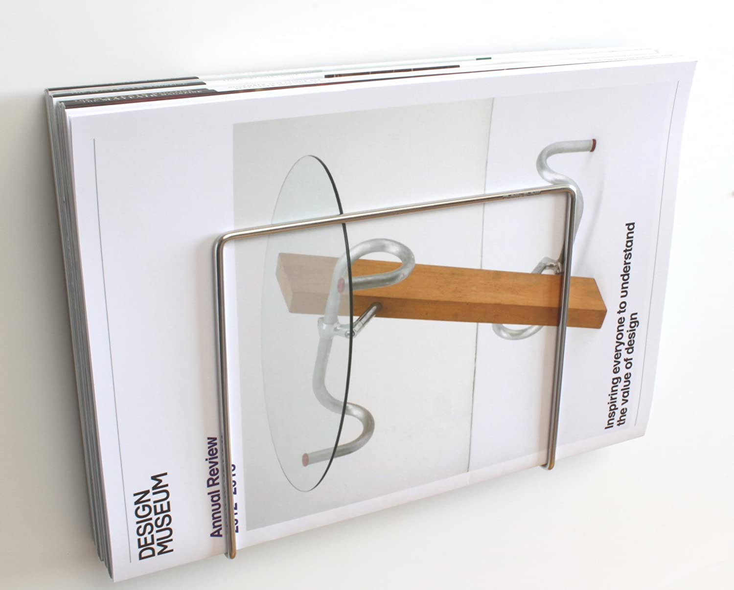 Excellent Amazon.com: Plew Plew stainless steel BATHROOM MAGAZINE HOLDER  TL46