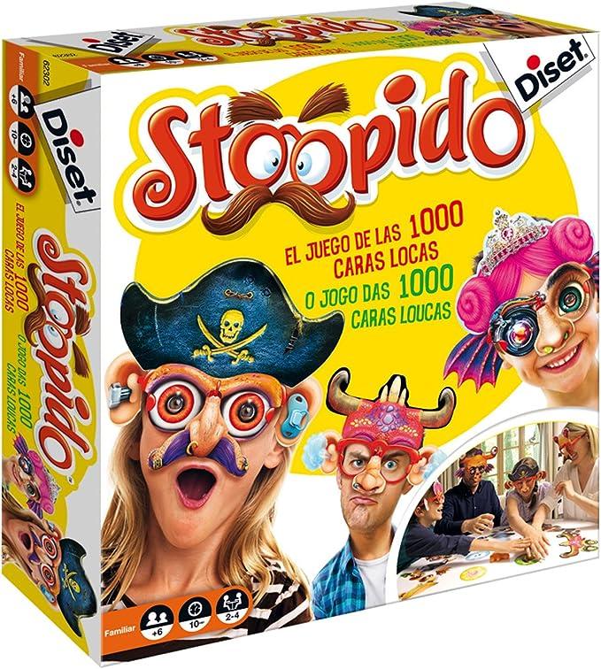 Diset - Stoopido, Juego de Habilidad, S.A 62302: Amazon.es: Juguetes y juegos