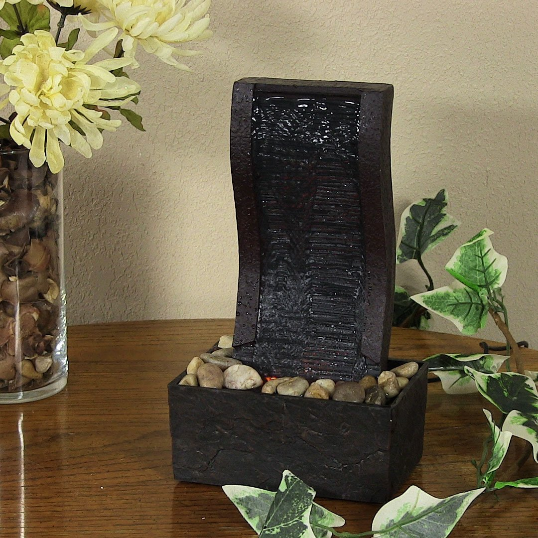 home decor water fountains indoor waterfalls for homes