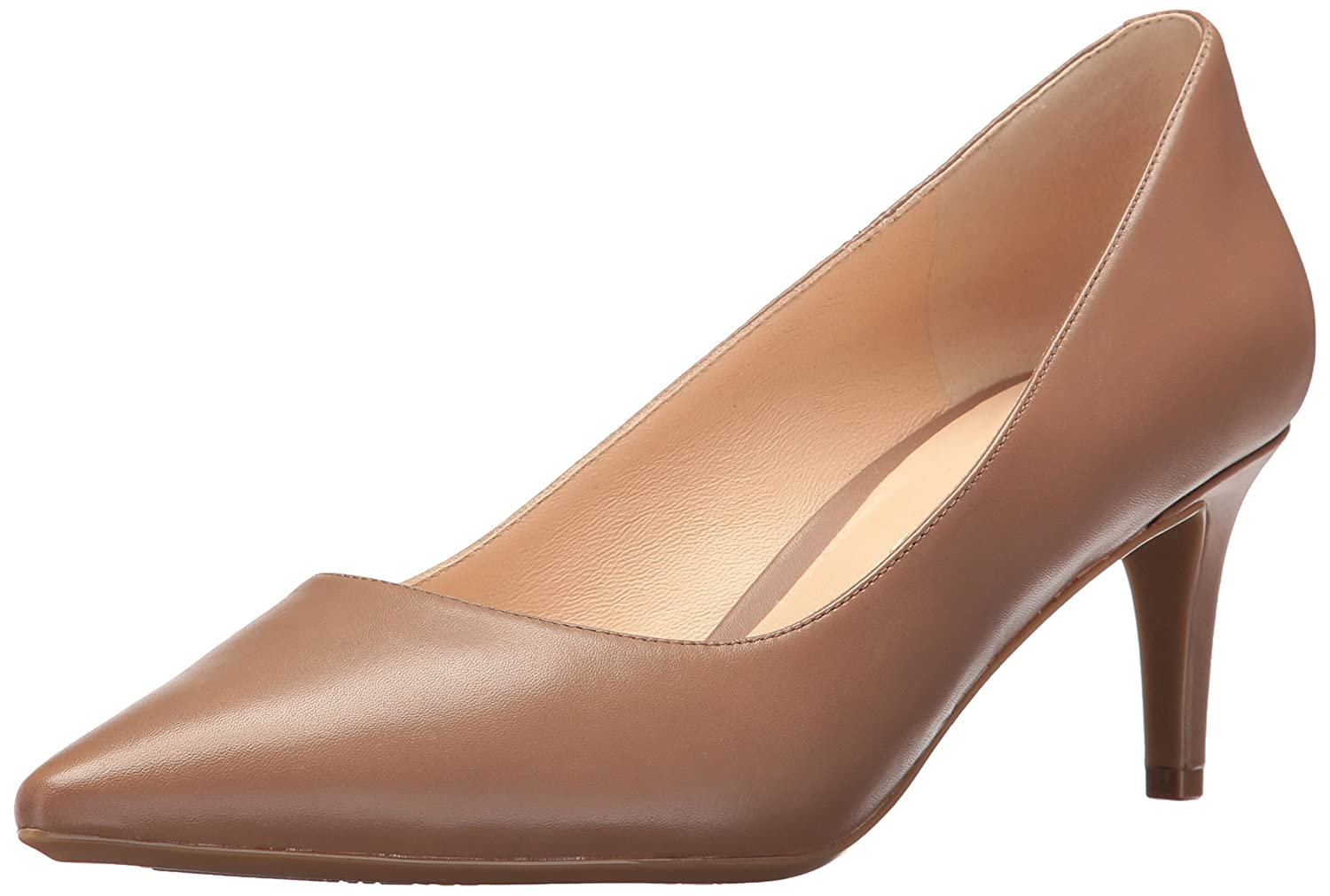 Nine West Women's SOHO9X9 Leather Pump B01MS9OVHB 9.5 B(M) US|Natural