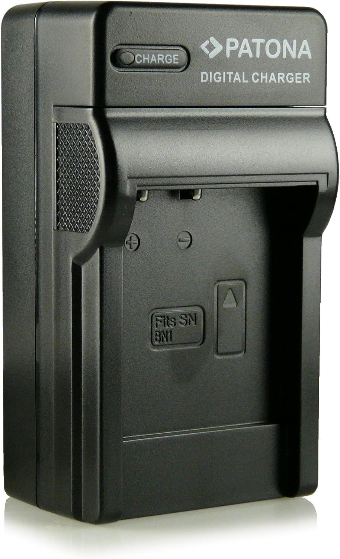 CARICABATTERIE per Sony Cybershot dsc-w-380 dsc-wx-5