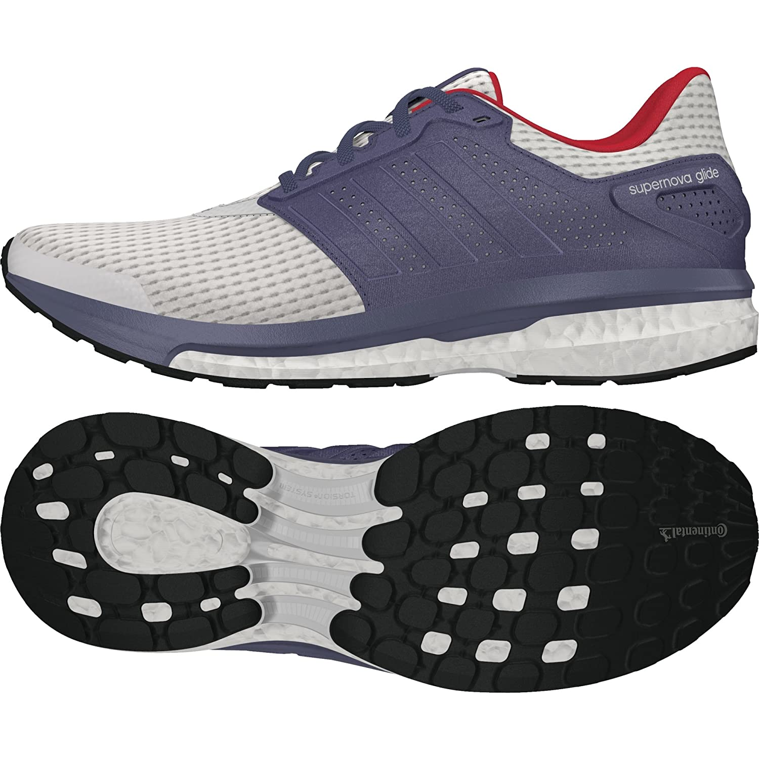 c6881130ad907 adidas Women s Supernova Glide 8 W Running Shoes  Amazon.co.uk  Shoes   Bags