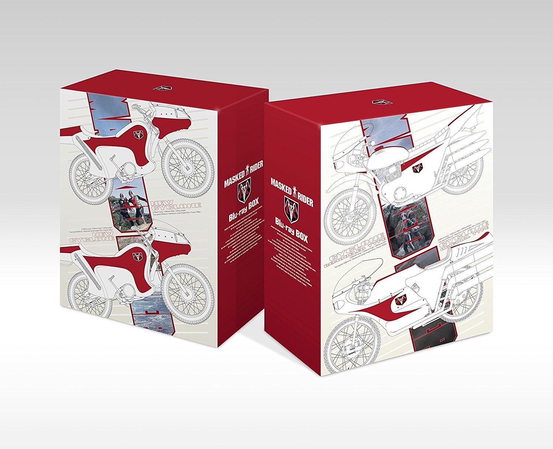 仮面ライダー Blu-ray BOX 【初回生産限定版】 全4巻セット [マーケットプレイス Blu-rayセット] B01JKM11MY