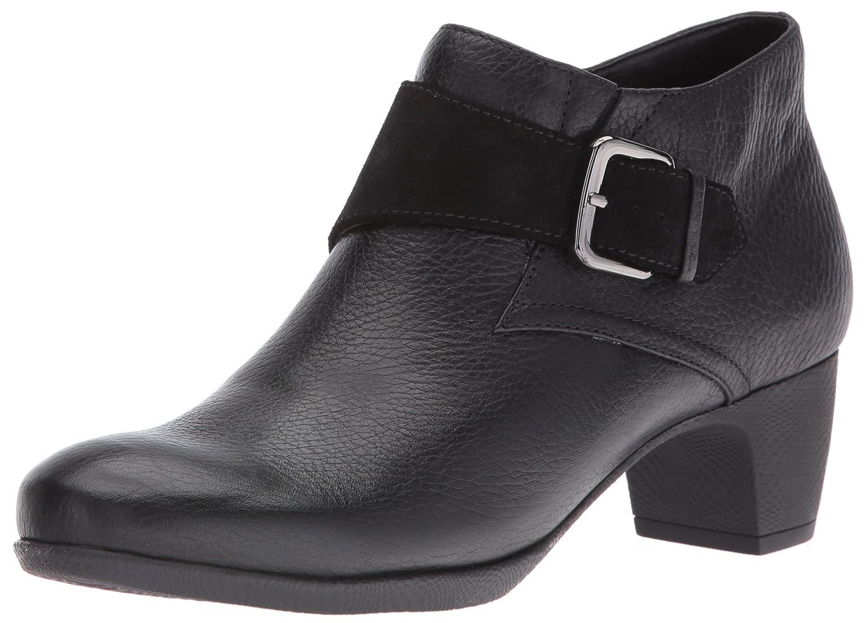 SoftWalk Women's Imlay Boot B019QJN36S 7.5 N US|Black Suede