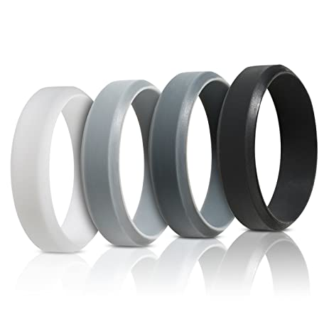 "Amazon.com : BEST SILICONE WEDDING RING FOR MEN ""Protect Your ..."