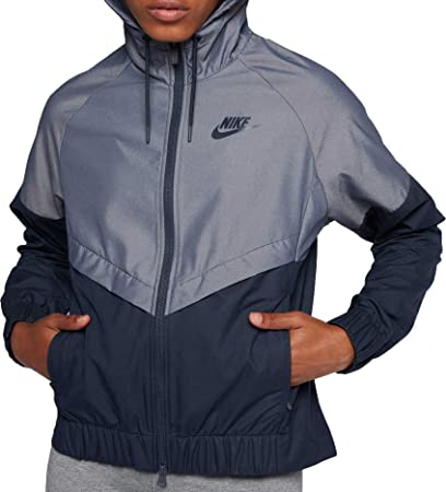 Image Unavailable. Image not available for. Color  Nike Womens Windrunner  Fitness Training Athletic Jacket ... 974cf74255e9