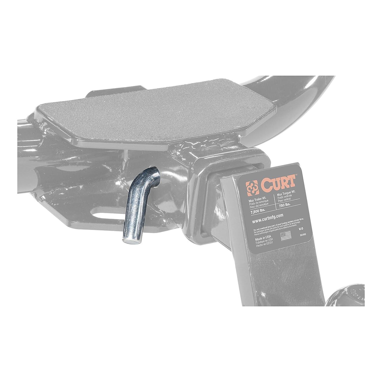 CURT 21500 Trailer Hitch Pin /& Clip Fits 2-Inch Receiver 5//8-Inch Pin Diameter