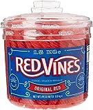 Redvines Candy 240 Fruit Flavour Vines 1.8kg Tub