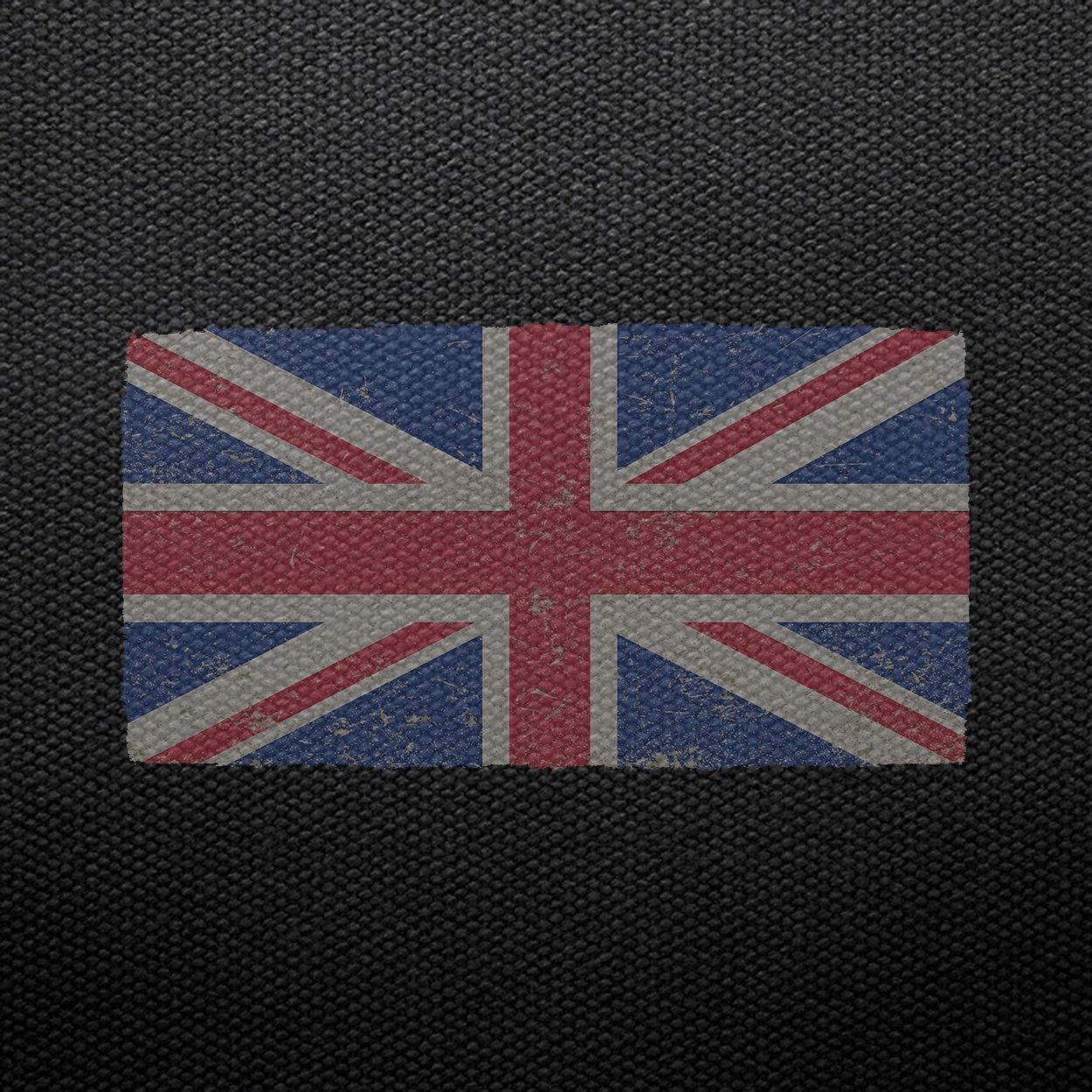 United Kingdom Flag Vintage UK London Proud England Pride Gi Tank Top