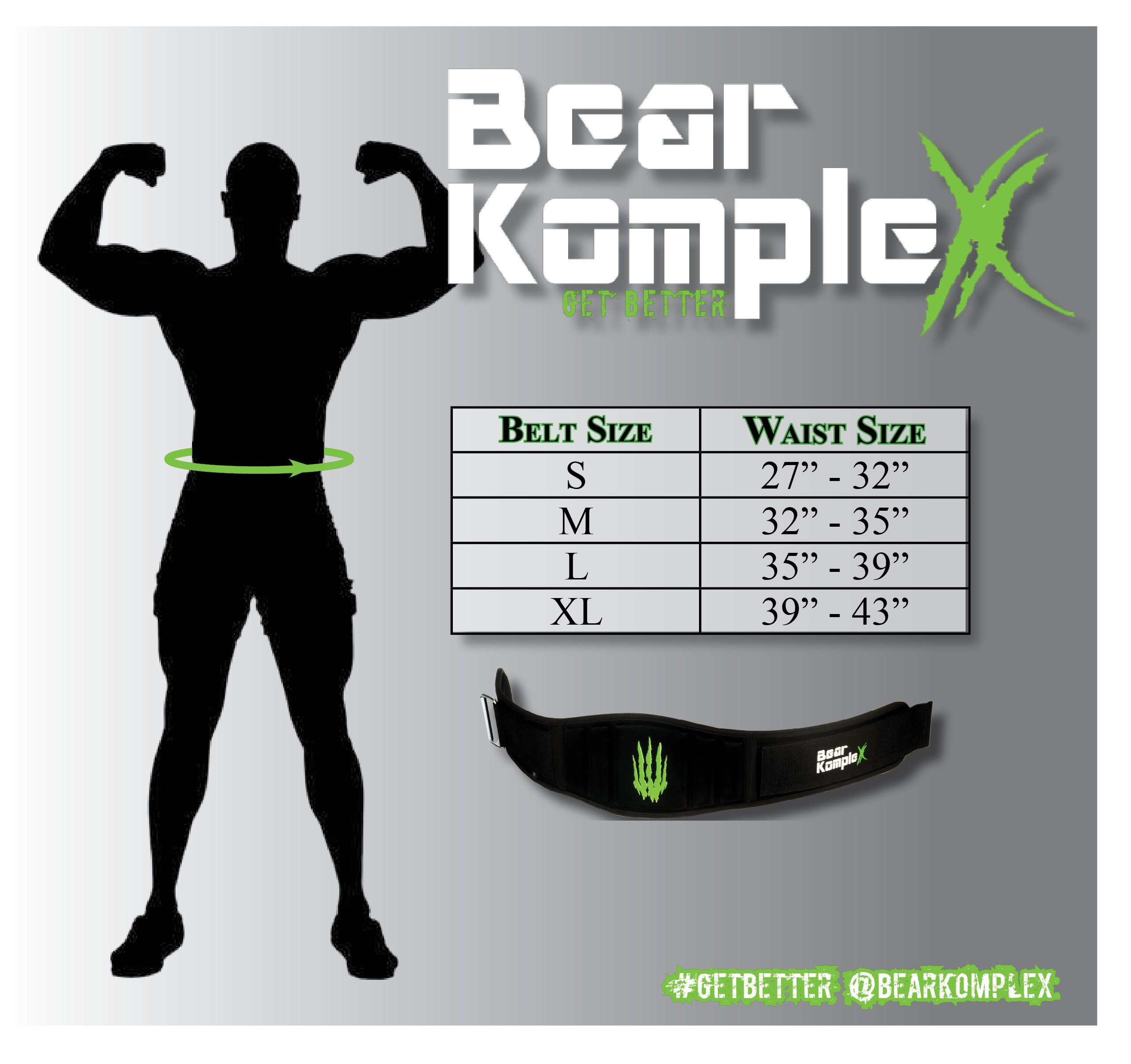 Bear KompleX 4'' Straight Weightlifting Belt for Powerlifting, Squats, Weight Training and More. Low Profile with Super Firm Back for Maximum Stability & Exceptional Comfort. Straight Black S by Bear KompleX (Image #3)