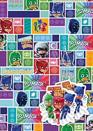 Official Gift Wrap (PJ Masks)  Amazon.co.uk  Office Products 626ffcef4