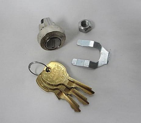 Compx National Pin Tumbler Lock, Bright Nickel - Door Lock ...