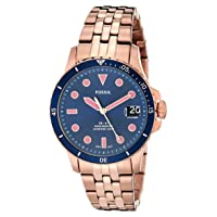 Women's FB-01 Stainless Steel Casual Quartz Watch