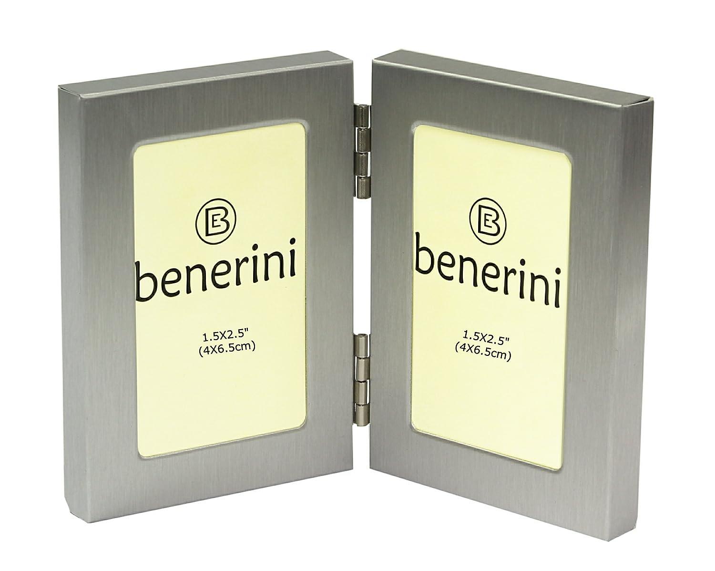 Amazon.com - benerini - Brushed Aluminum Satin Silver Color ...