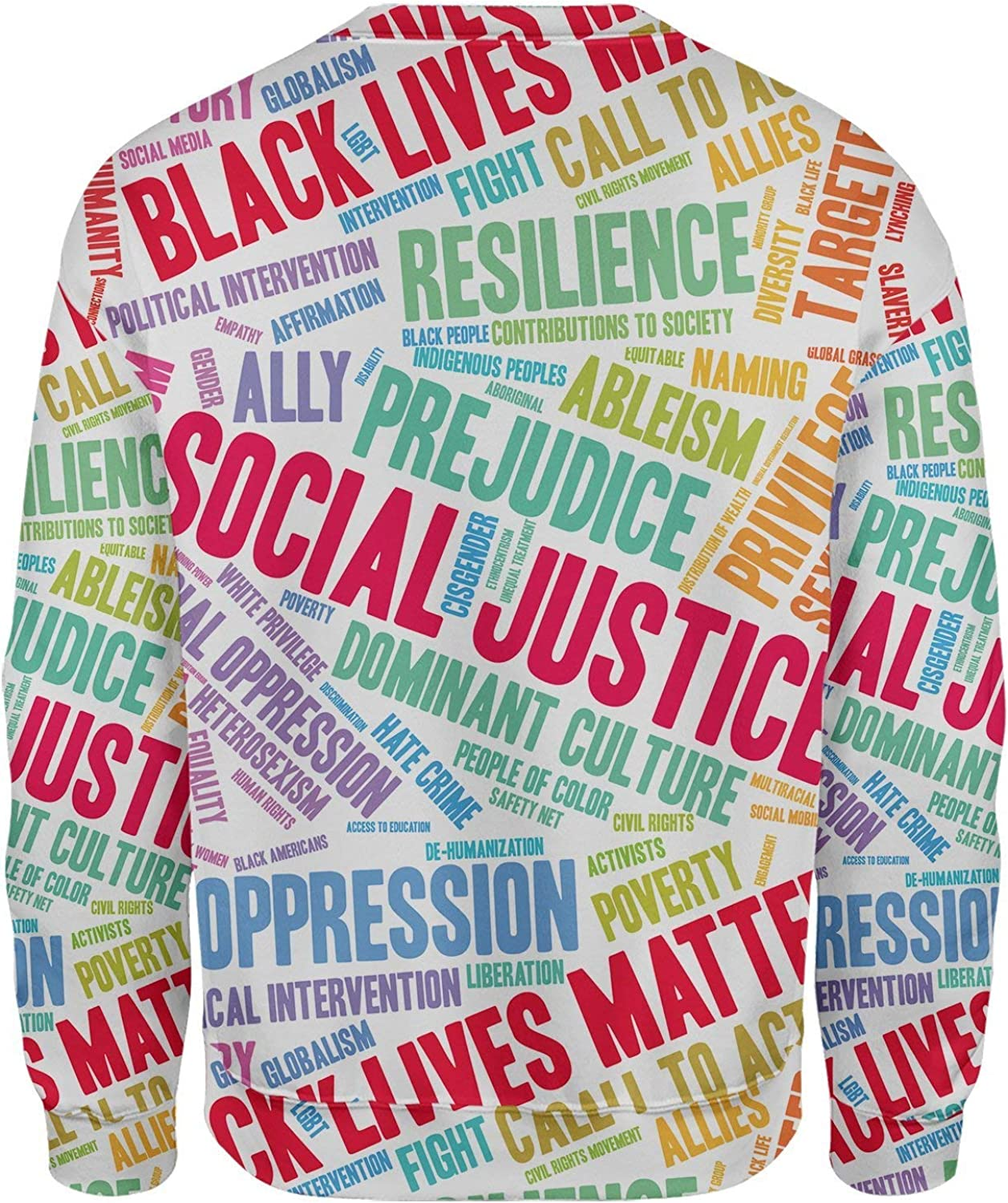 All Over Shirts Social Justice Sweatshirt