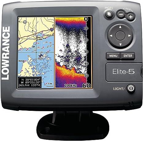 Lowrance Elite-5 - GPS Marino con Plotter: Amazon.es: Electrónica
