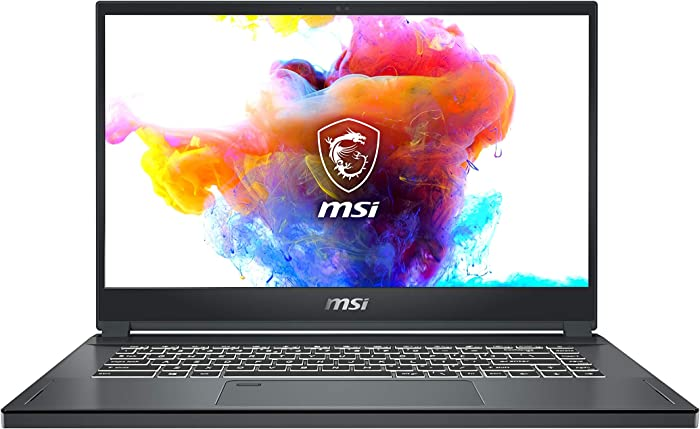 "MSI Creator 15 A10SFS-287 15.6"" UHD 4K Ultra Thin Bezel Adobe 100% Thin and Light Professional Laptop Intel Core i7-10875H GeForce RTX 2070 Super 32GB DDR4 1TB NVMe SSD TB3 Win10PRO VR Ready"