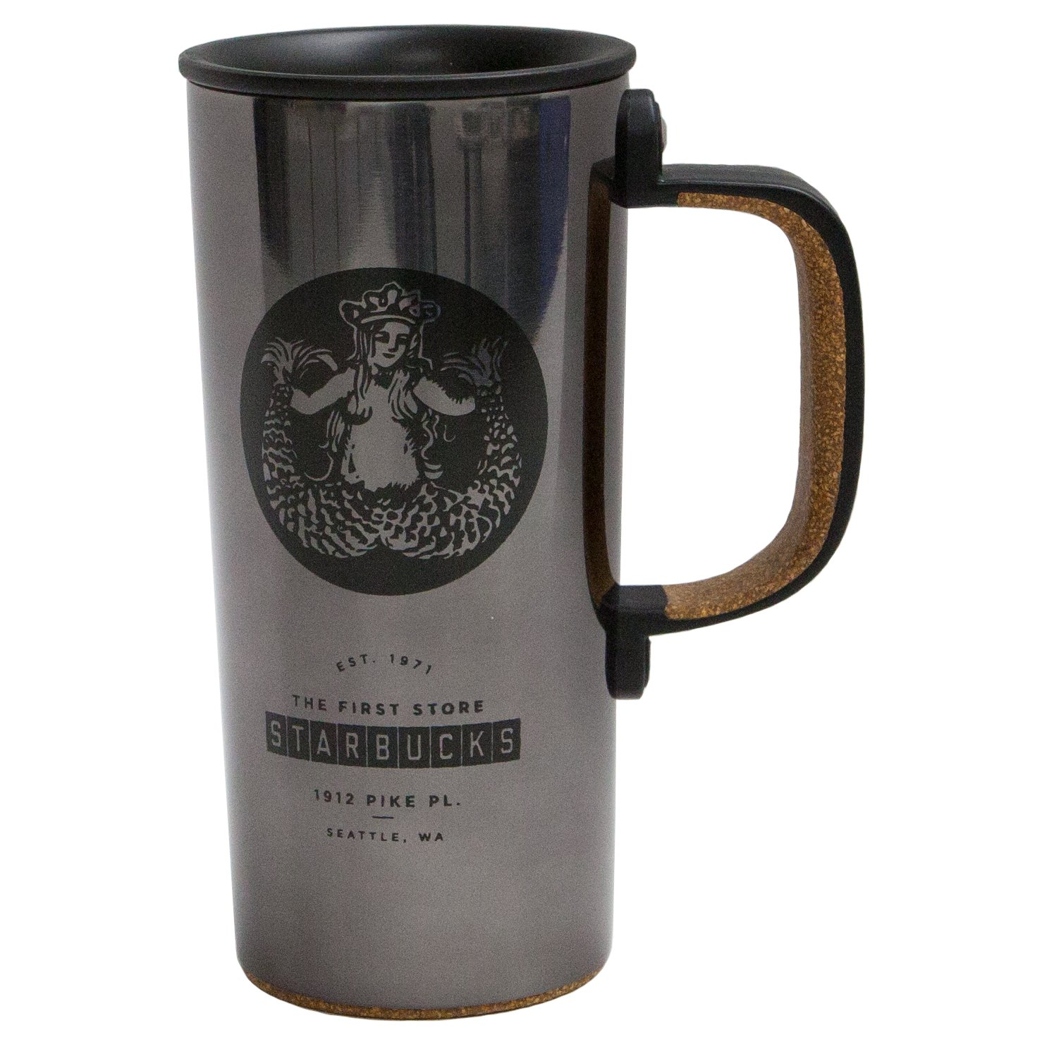 Starbucks Pike Place Stainless Coffee Tumbler, 12oz