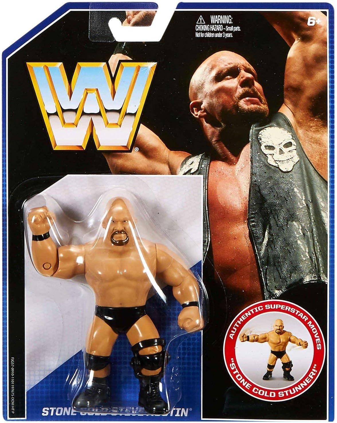 Stone Cold WWE Mattel Retro Rock Vs