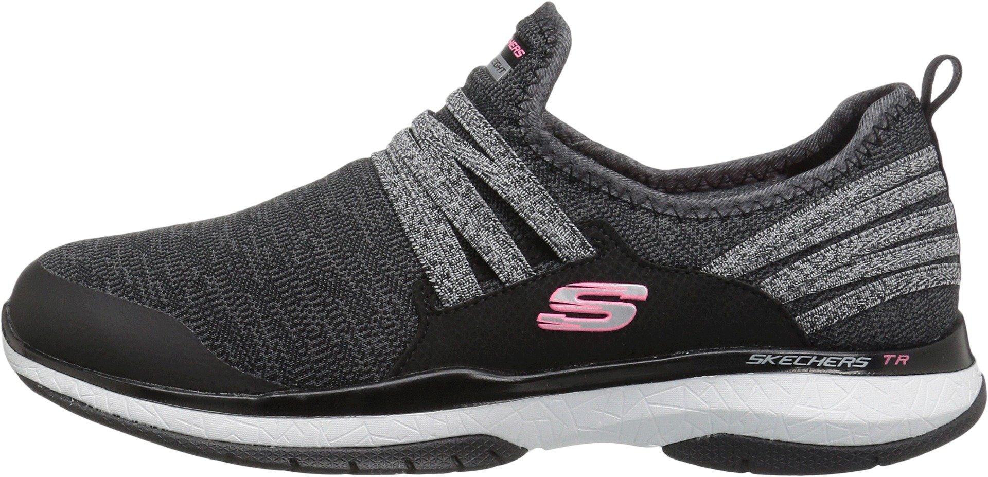 Skechers Burst TR Womens Sneakers Black/White 7.5 UC8MAp