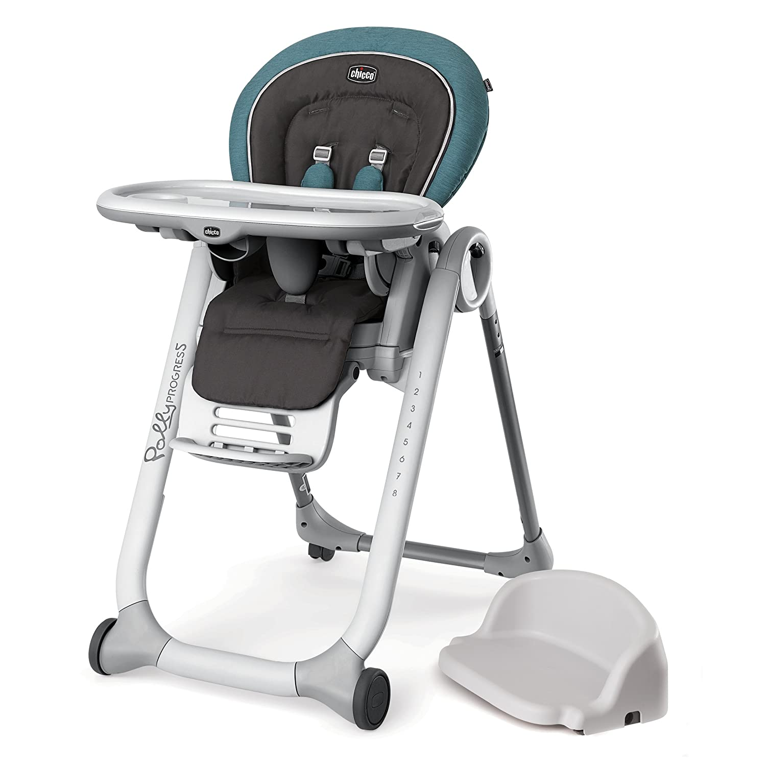Chicco Progress 5-in-1 Highchair, Calypso 05079408580070