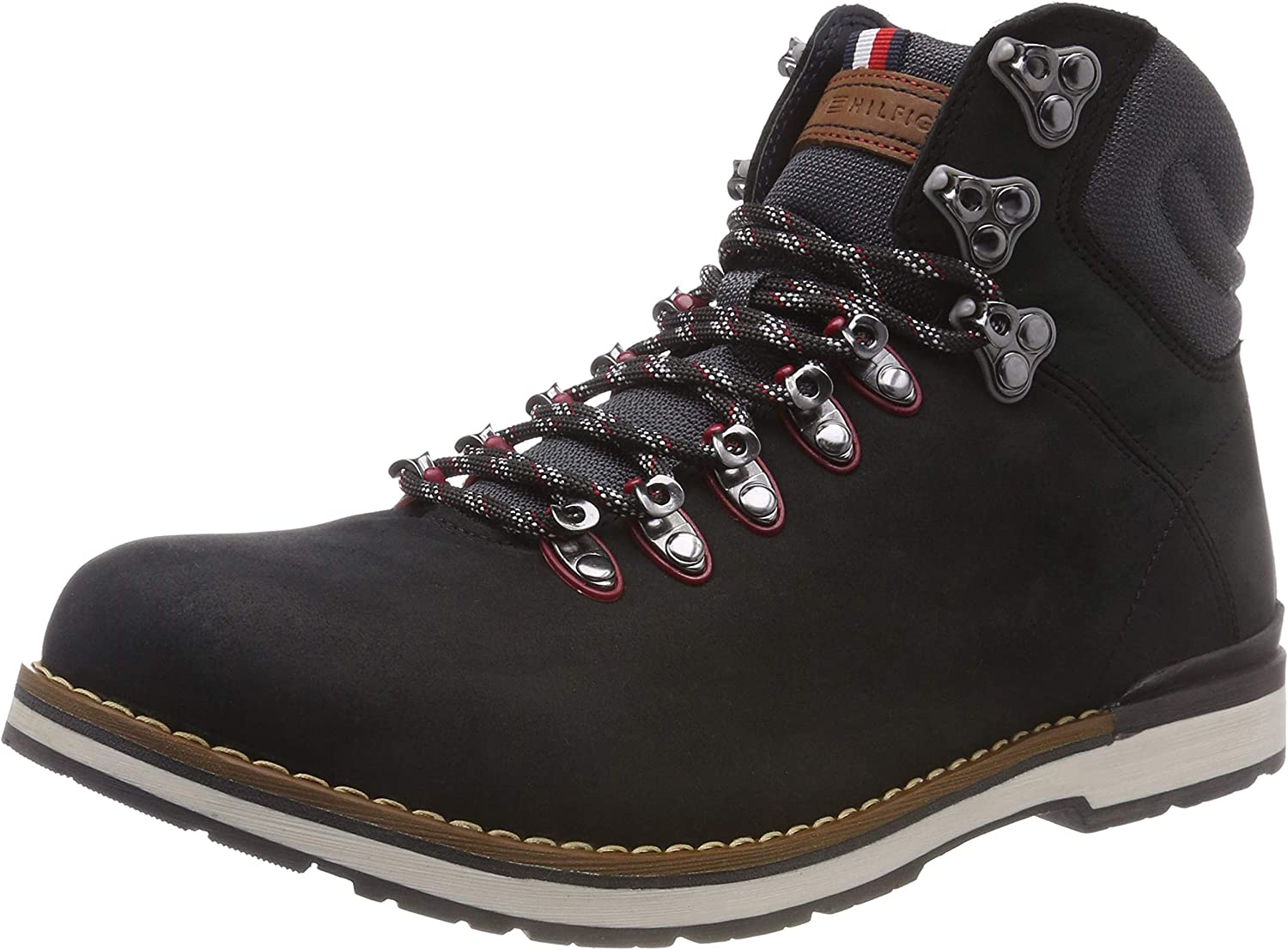 TALLA 41 EU. Tommy Hilfiger Outdoor Hiking Detail Boot, Botas Militar para Hombre
