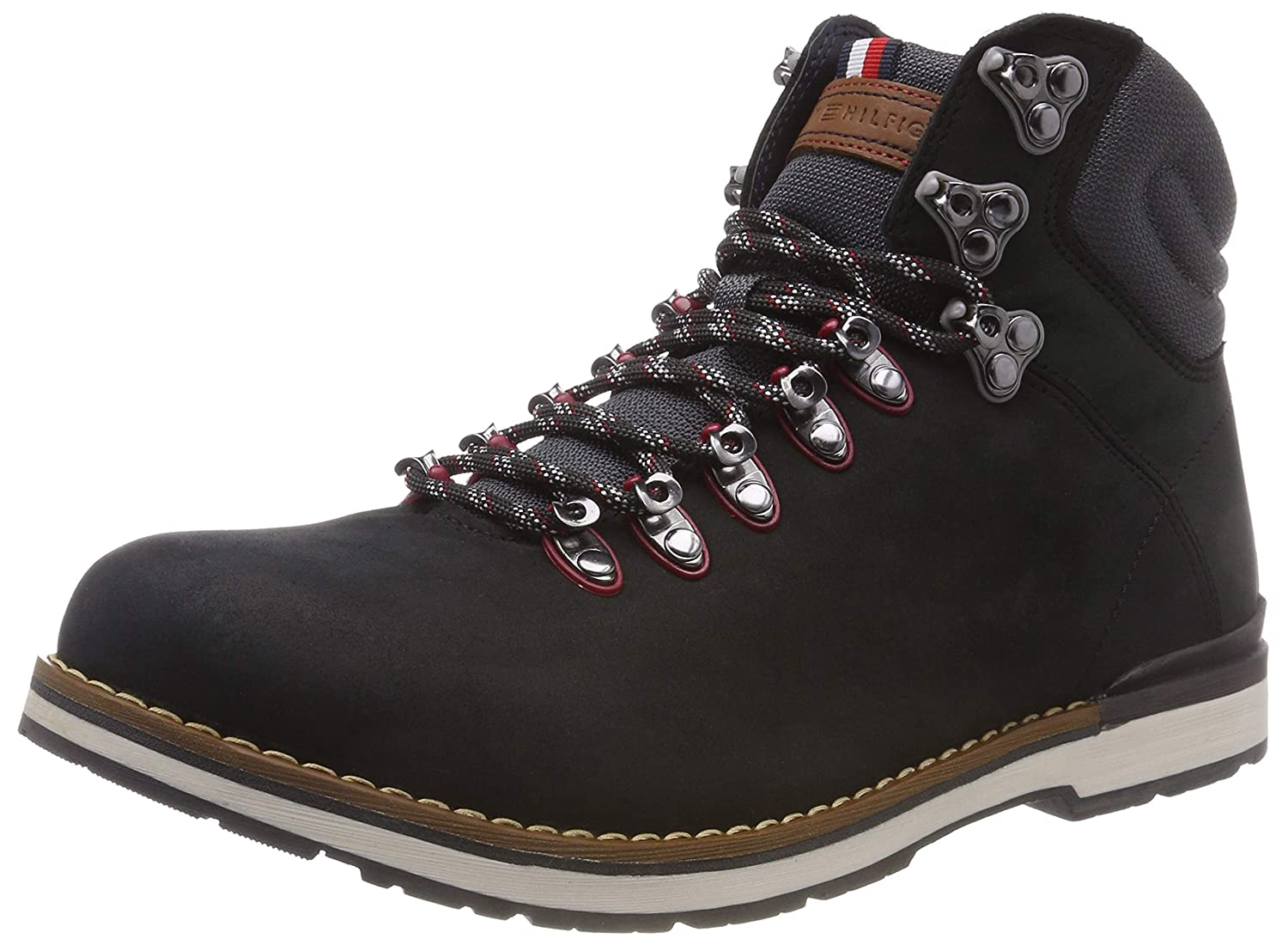 TALLA 45 EU. Tommy Hilfiger Outdoor Hiking Detail Boot, Botas Militar para Hombre