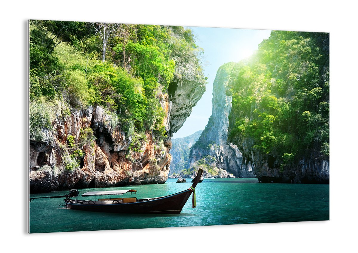 Glass Picture - Glass Print - 1 part - Width: 70cm, Height: 50cm (Width 27,6