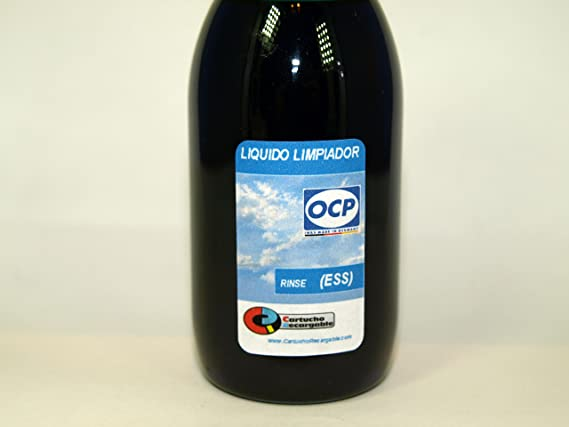 OCP Rinse (ESS) - Liquido Limpiador para Cabezales e Inyectores en ...