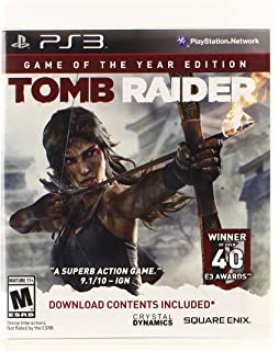 Amazon com: Tomb Raider: Playstation 3: Video Games