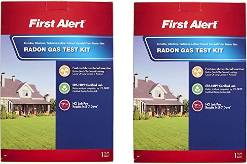 First Alert Radon Gas Test Kit, RD1 w k