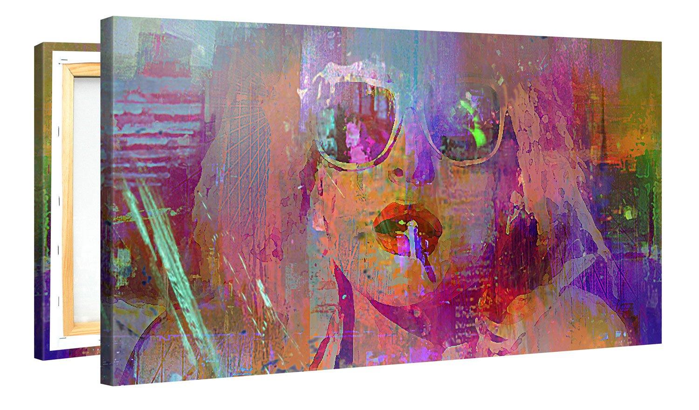 Collecti Parfaite D/écoration pour Un Int/érieur Sublime Coussin Imprim/é de Qualit/é Sup/érieure Same Place Same Time Gallery of Innovative Art Coussin D/écoratif avec Remplissage 40x40cm