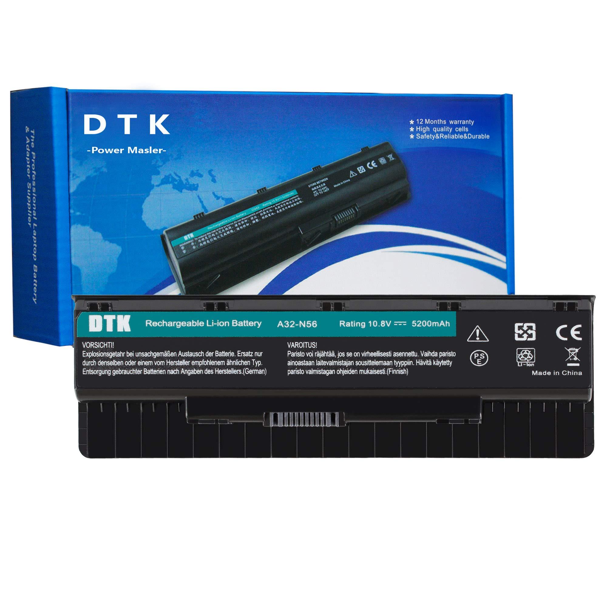 Bateria 6 Celdas 10.8v 5200mah Asus A31-n56 A32-n56 A33-n56
