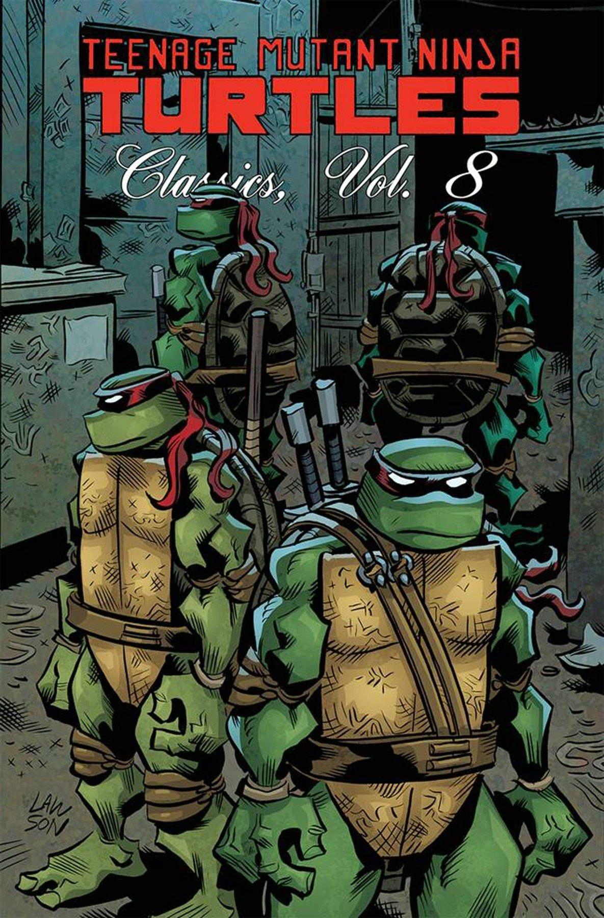 Teenage Mutant Ninja Turtles Classics Volume 8 (TMNT ...