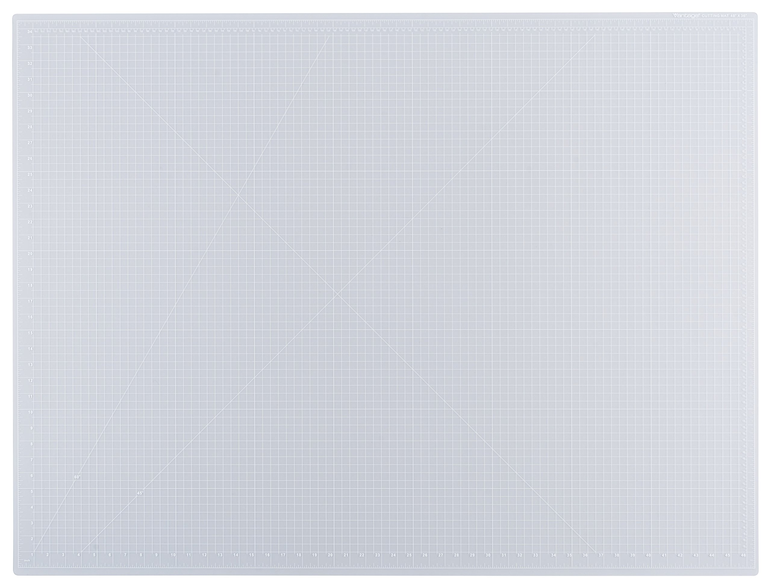 Dahle Vantage 10684 Self-Healing 5-Layer Cutting Mat Perfect for Crafts and Sewing 36'' x 48 Clear Mat