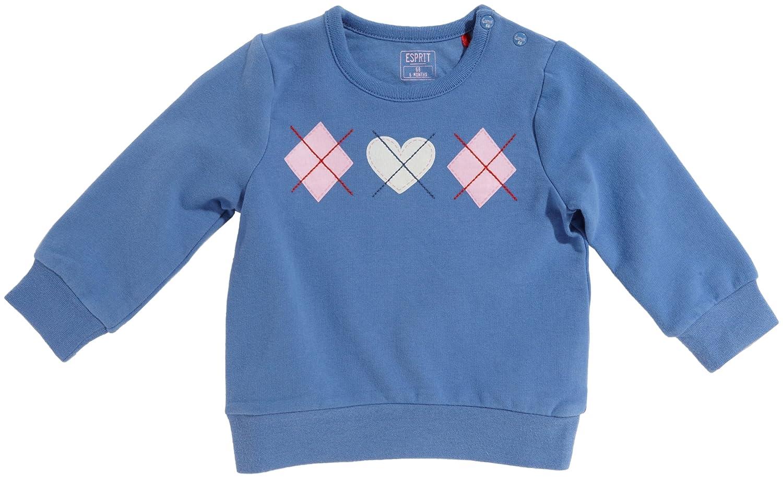 ESPRIT - Polo para niña azul de 96% algodón, 4% elastano, talla ...