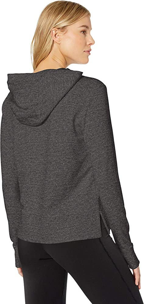 Light Grey NEP Heather S Essentials Womens Studio Terry Long-Sleeve Full-Zip Jacket