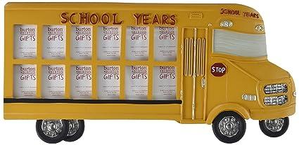 Amazoncom School Bus Photo Frame Picture Frames