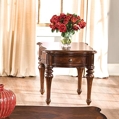 Liberty Furniture Industries Andalusia Occasional End Table, 24 x 28 x 24 , Cherry