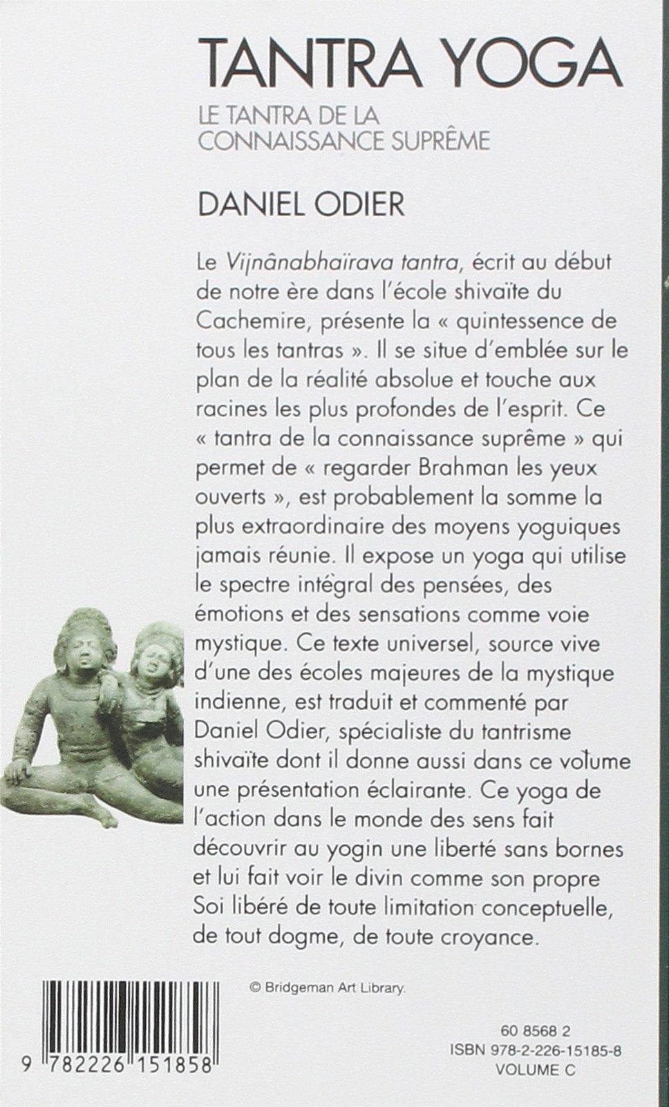 Amazon.com: Tantra Yoga. Le Tantra de La Connaissance ...