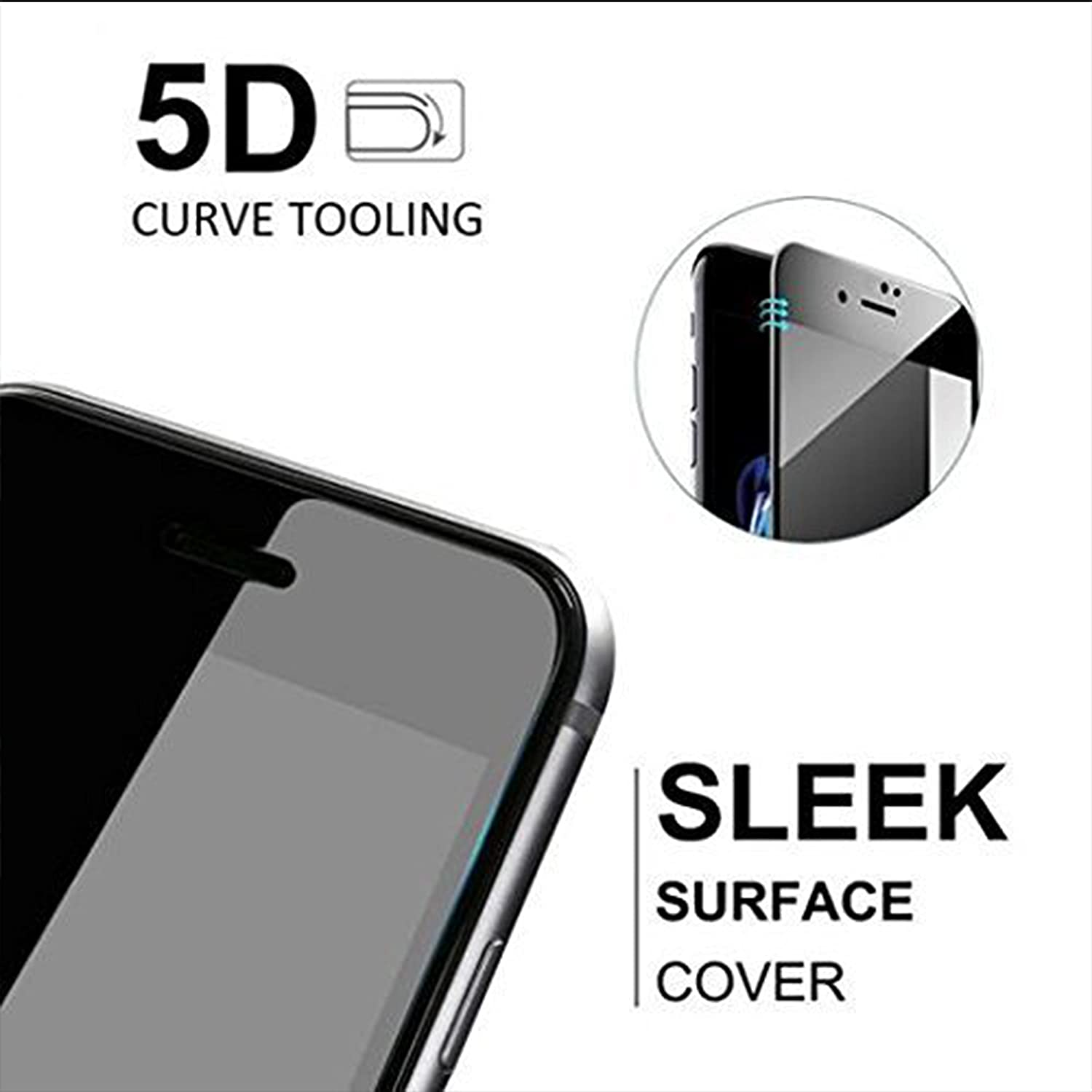 Amazon Buy DigiPrints Full Glue Full Edge to Edge Full Coverage 5D Tempered Glass Screen Protector for Samsung Galaxy C9 Pro