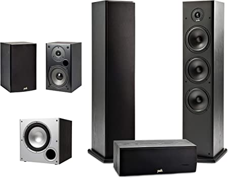 Polk Audio 5 1 Channel Home Theater System Wi