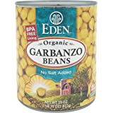 Eden Foods Bean Can Garbanzo Organic, 29 oz