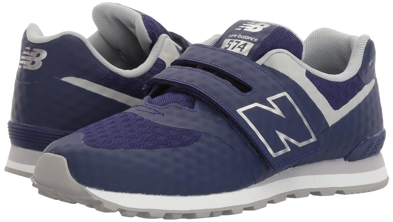 Amazon.com | New Balance Boys NB Kids 574 Fashion Shoe Breathe (LK) HL Running, Blue/Grey, 2.5 M US Little | Running