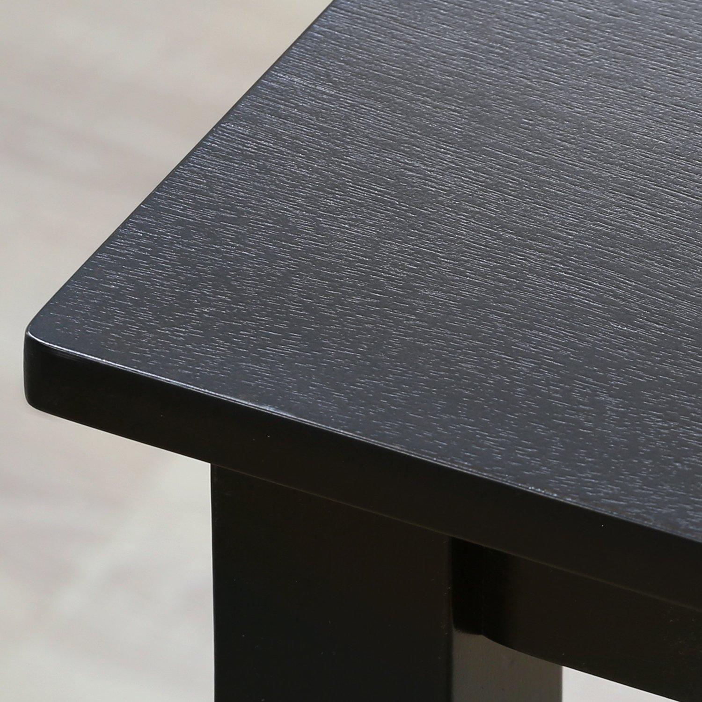 Furinno Franklin Solid Wood Dining Table, Espresso by Furinno (Image #3)