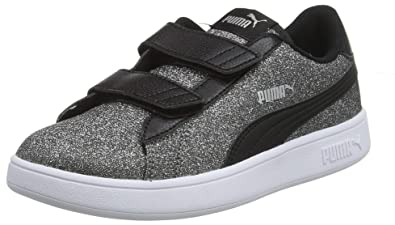 PUMA Smash V2 Glitz Glam V PS, Sneakers Basses Fille