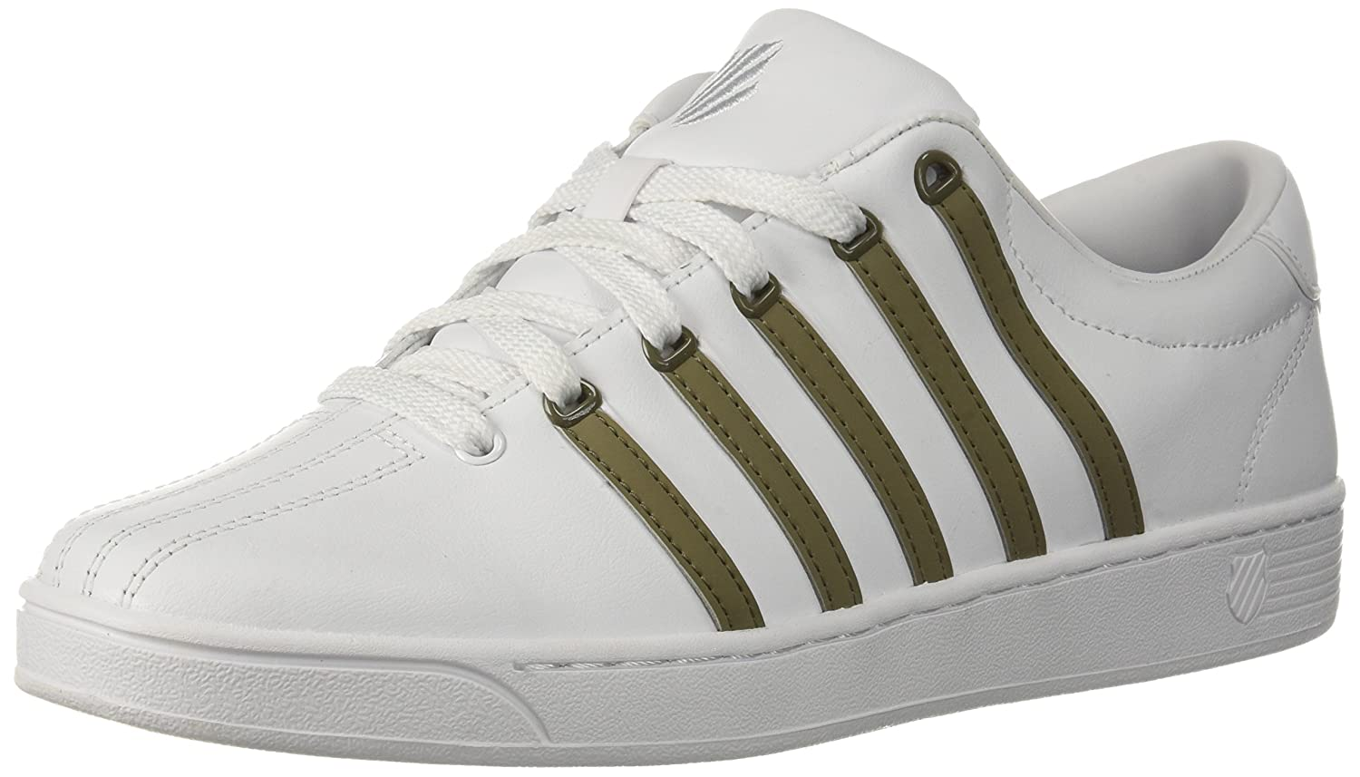 [ケースイス] メンズ メンズ 8 D(M) Green US White/Covert White/Covert Green B073WVDHYN, 大洲市:ba92f1c3 --- cgt-tbc.fr