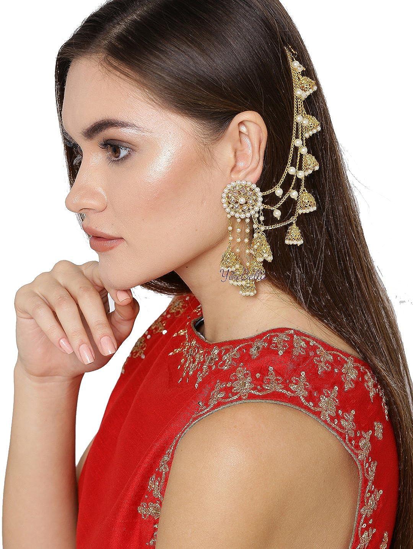 YouBella Earrings for Women Stylish Jewellery Traditional