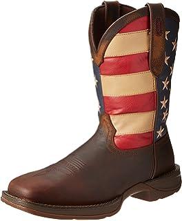 fc75f184fb0 Amazon.com | Durango Lady Rebel 10 Inch Flag RD4414 Western Boot ...
